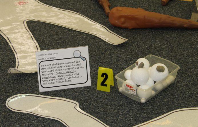 Crime scene items