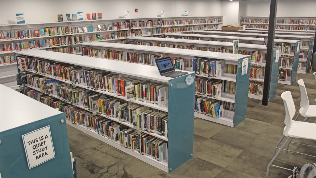 This is an image of book stacks