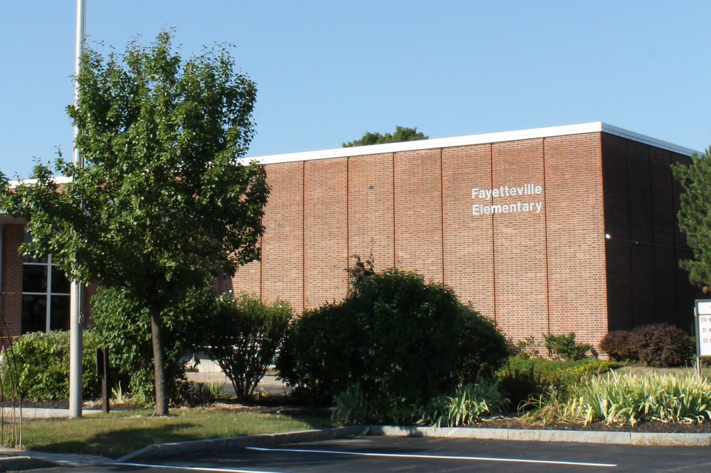 Exterior of Fayetteville Elementary School