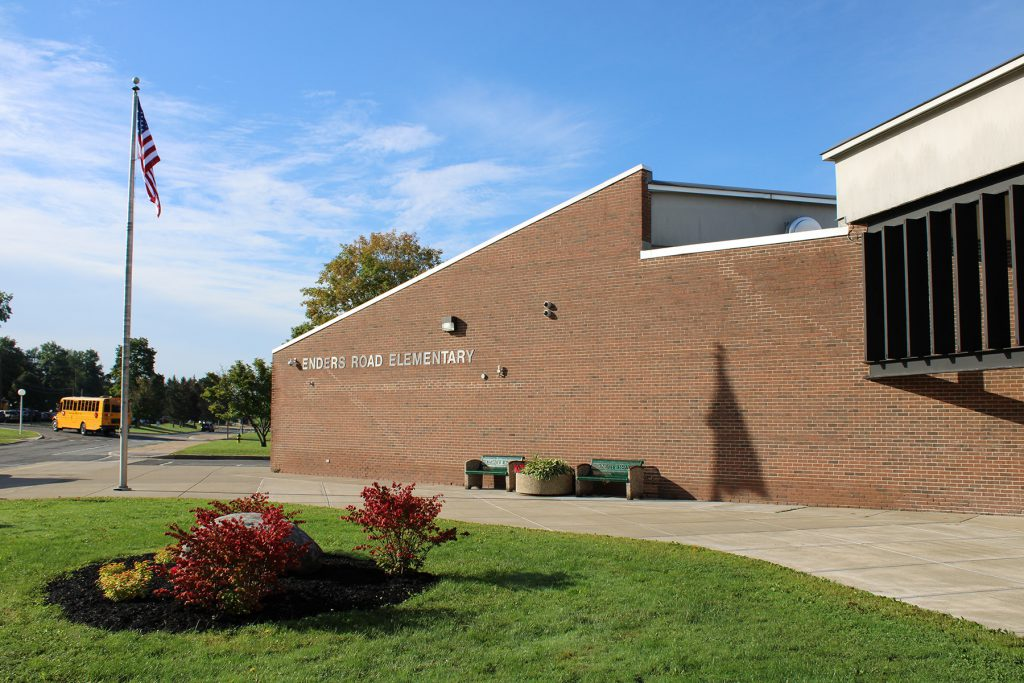 Exterior of Eners Road Elementary School